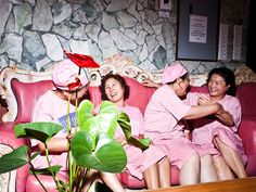 Korean-style spas have cropped up as Korean-American populations have grown. King Spa & Fitness in New Jersey draws crowds for its buffet of pampering options.