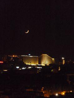 à noite .... da minha janela