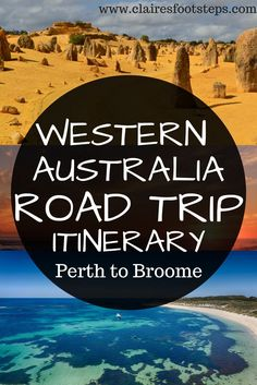 Perth to Broome Drive Itinerary Western Australia… it's somewhere pretty special. So many travellers favour the east coast, but I'm here to prove to you that a Perth to Broome road trip should be on your Australian bucket list… If you Perth, Brisbane, West Coast Australia, Western Australia, Cook Islands, Australia Travel Guide, Australia Trip, Queensland Australia, Melbourne Australia