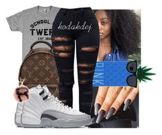 """Untitled #868"" by kodakdej ❤ liked on Polyvore featuring Louis Vuitton, Victoria's Secret and Fendi"