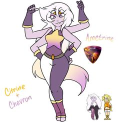 I finally got around to making my Gemsona. She is a little too sexy. Her weapon is a really cool aerial hovering turret system. And hand to hand combat. I like her. I made her with the gemsona doll...