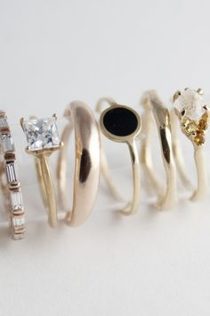 rings, jewelry, gold