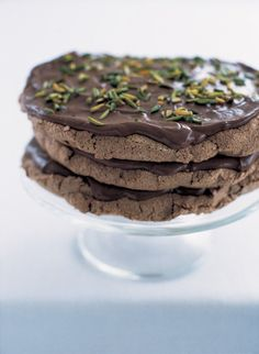 Gooey Chocolate Stack   Nigella's Recipes   Nigella Lawson