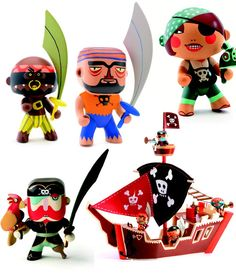 Arty Toys by Djeco - pirates