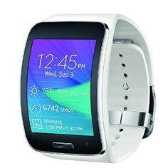 Samsung Gear S Smartwatch, White (Verizon Wireless) ** Check out this great product. Electronic Gadgets For Men, Mens Gadgets, Electronics Gadgets, Electronic Devices, Samsung Gear S, Samsung Galaxy S, Smartwatch, Fuel Band, Jawbone Up