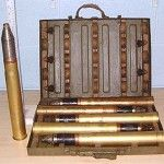 Image - 1 WW2 Soviet 45mm Anti Tank HE rounds ( 1 x box remaining) | Militaria | WARSTUFF