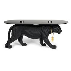 Soffbord 'Dope as hell' - Svart - Reforma Sthlm Panther, Funky Design, Monkey, New Homes, Objects, Retro, Vintage, Furniture, Home Decor
