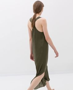 ZARA - NEW THIS WEEK - DRESS WITH KNOT AT THE BACK