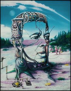 We reduce art to its simplest expression, which is love said Surrealist writer Andre Breton Andre Breton, Exquisite Corpse, Art Periods, Max Ernst, Rene Magritte, Surrealism Painting, Fashion Painting, Weird Creatures, Time Art