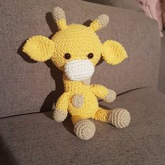 First amigurumi made with the pattern from TheresasCrochetShop on Etsy ♥️. #etsystar http://etsy.me/2njpSIL