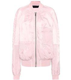Buy it now. Bomber jacket. Pink bomber jacket by Haider Ackermann , chaquetabomber, bómber, bombers, elbowdiamond, baseball. Hot pink HAIDER ACKERMANN  bomber jacket  for woman.