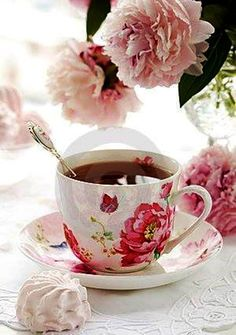 A delicadeza numa xícara de chá.