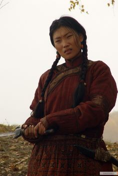 Mongol (movie) - borte - would be nice fighting gear.