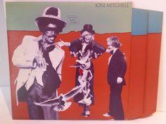 Joni Mitchell DON JUAN'S RECKLESS DAUGHTER - FOLK, FOLK ROCK, COUNTRY and folkish music! #LP Heads, #BetterOnVinyl, #Vinyl LP's