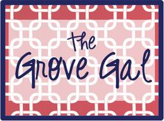 The Grove Gal Blog... tons of Ole Miss tailgating ideas for the Grove! :)