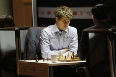 Magnus Carlsen in Norway Chess 2013 - Follow him on http://www.chess-and-strategy.com/