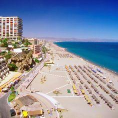 Torremolinos plage, Espagne