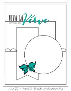 Viva la Verve Sketches: Viva La Verve July 2014 Week 3 {Sketch & Inspiration}