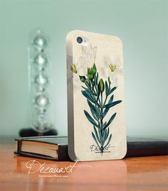 Floral iPhone 4 case, iPhone 4s case, floral fabric pattern S208. $26.99, via Etsy.
