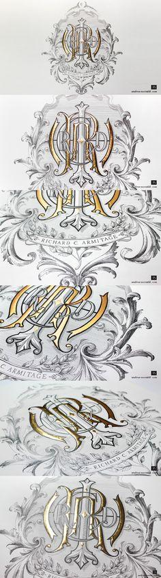 R & A Monogram Series 1: RICHARD Monogram by Andrew Novialdi