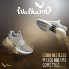 Walk effortlessly to that extra mile with Walkaroo Shoes.  #Walkaroo #BeRestless #WS9013 Extra Mile, Sports Shoes, Adidas Sneakers, Walking, Instagram, Link, Products, Fashion, Adidas Tennis Wear