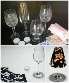 From old wine glasses to charming candlesticks do it yourself hub1