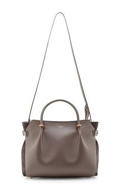 b90418a500 Marche Leather and Suede Tote Bag by Nina Ricci Now Available on Moda  Operandi Suede Tote
