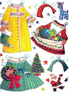 Bonecas de Papel: Um Feliz Natal!   http://bonecasdepapel.blogspot.com/