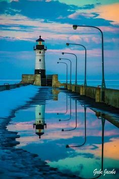 Canal Park #lighthouse April 2014 http://www.roanokemyhomesweethome.com/