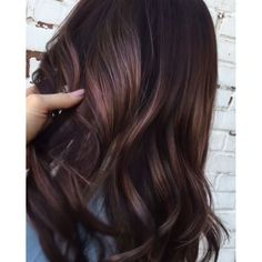 Image result for blue violet brunette hair color lowlight