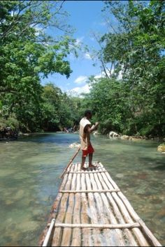 Jamaica--Rafting on the Martha Brae River, a must if you go, it's beautiful. Negril, Montego Bay, Jamaica Travel, Jamaica Jamaica, Rafting Tour, Reggae Artists, Caribbean Rum, Vacation Spots, Dream Vacations