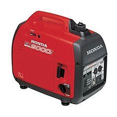 Honda EU2000i generator; 2000 watts, inverter, quiet, good fuel economy, $1000