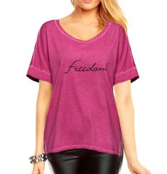 Damen Longshirt  Tunika T-Shirt  washed pink  Neu  Gr. 38