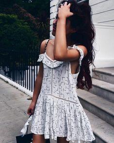 White off shoulder sundress