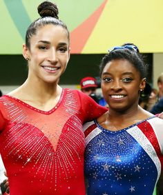 How can you possibly follow a debut that involves bringing home Olympic gold? Well, unless Aly Raisman and Simone Biles plan to run for president in the coming years, there really isn't much they can do to top their current claim to fame. They've made a great start, though--their latest headline-making