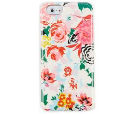 ban.do iPhone 6 Floral Phone Case ❤ liked on Polyvore featuring accessories, tech accessories and ban.do