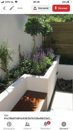 Garden Design Plans, Modern Garden Design, Backyard Garden Design, Backyard Landscaping, Backyard Ideas, Rectangle Garden Design, Contemporary Garden, Modern Design, Small Gardens