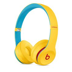 Beats Wireless On-Ear Headphones - Apple Headphone Chip, Class 1 Bluetooth, 40 Hours Of Listening Time - Club Yellow (Latest Model) Color:Club Yellow Sports Headphones, Bluetooth Headphones, Beats Headphones, Over Ear Headphones, Red Apple, Beat Club, Apple Watch, Beats Audio, Bedrooms