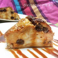 Pudding de croissants » Divina CocinaRecetas fáciles, cocina andaluza y del mundo. » Divina Cocina