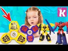 СПИННЕР ТРАНСФОРМЕРЫ Как сделать Cпиннер Своими руками DIY Transformers Fidget Spinner - YouTube