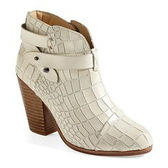 You bought another pair?! You couldn't even pay your half of last month's rent on time.  Harrow' Bootie, Rag & Bone, $550, nordstrom.com