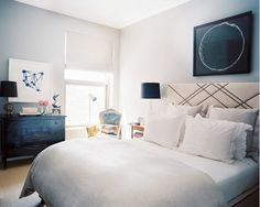 How to Craft a Black and White Space That's Anything But Boring via @domainehome