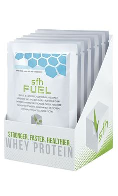 SFH Pure Whey Protein - 10 Travel Size Whey Protein Powder Packets