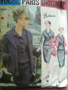Vogue 1294 A - Vintage Sewing Patterns