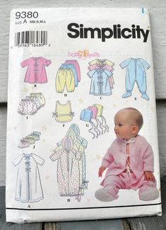 Simplicity 4202 Baby Accessories etc Pattern Quilt