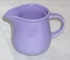 Vintage Purple Lilac Creamer Like Fiesta Fiestaware  by ShonnasVintage on Etsy, $9.99