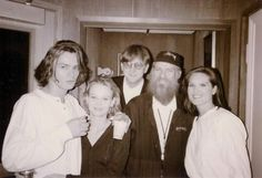 """"""" River, Samantha Mathis, T Bone Burnett, Billy F. Gibbons and Alison Ohmstead. River I, River Phoenix, Samantha Mathis, Wil Wheaton, Hey Jude, Love U Forever, Beautiful Person, Back In The Day, Pretty Boys"""