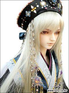 Another beautiful Asian Ball-Jointed Doll by Luts... at HOLD IT!