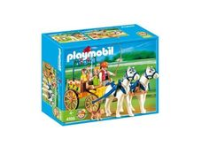 Playmobil Horse Carriage by Playmobil. $34.48. 9.8 x 7.9 x 3.9 inches. A horse and carriage set to transport your visitors around the Pony Ranch. 4 Years +