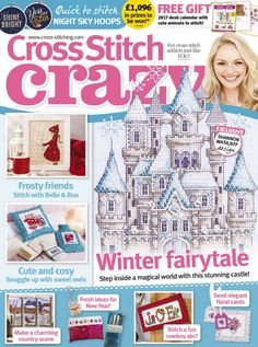 Get a FREE issue of Cross Stitch Crazy. Download the app from iTunes